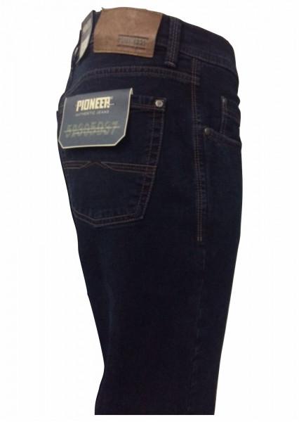 Pioneer Jeans RANDO blue/black + Ledergürtel GRATIS