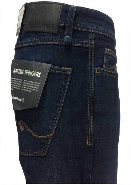 hattric Herren Jeans Hunter plus gratis Ledergürtel