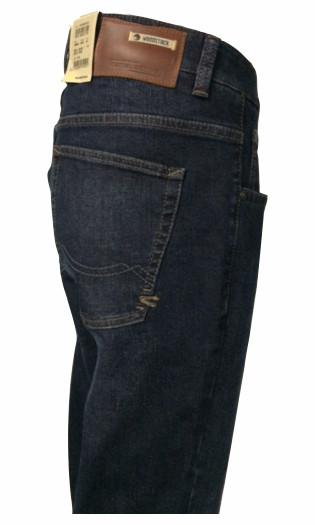 camel active Jeans WOODSTOCK blue/black + Ledergürtel GRATIS