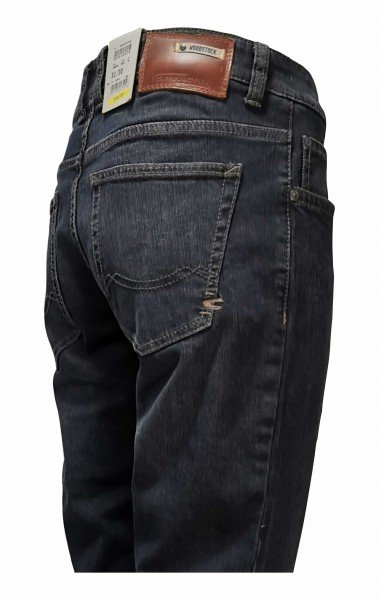 camel active Woodstock Stretchjeans blue black