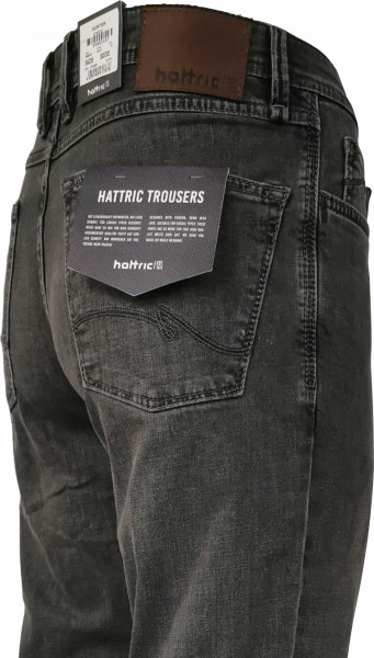 hattric Jeans Hunter grau Stretch