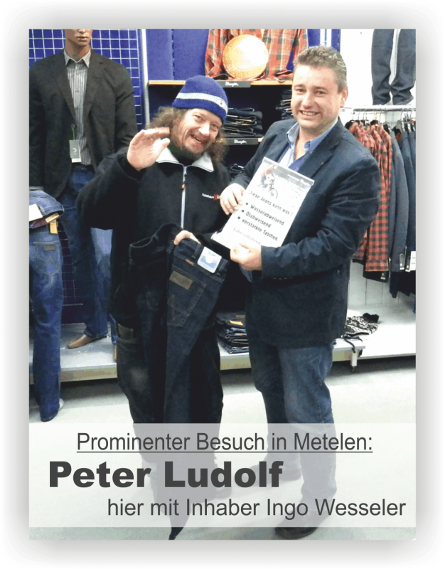 Peter Ludolf Im Modenhaus Wesseler