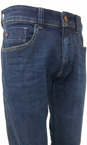 camel active Jeans MADISON - darkblue + Lederguertel GRATIS