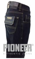 Pioneer Jeans RANDO darkblue used + Ledergürtel GRATIS